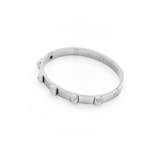Silk & Steel Rock Glam Bangle