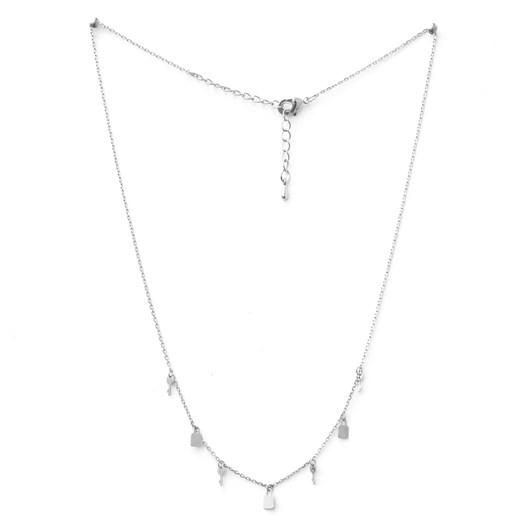 Stella + Gemma Necklace Hearts Unlocked Silver