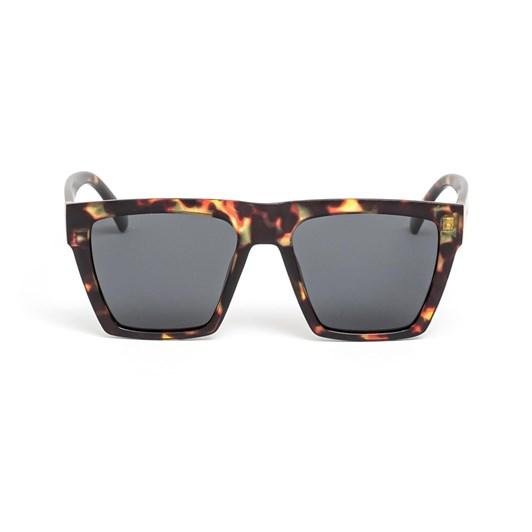 Stella + Gemma Sunglasses Lucie Matt Safari Tort