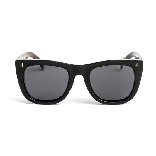 Stella + Gemma Sunglasses Havana Black W/Tort Arms