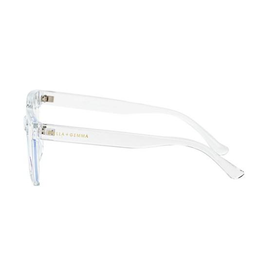 Stella + Gemma Blue Light Glasses Milan Clear