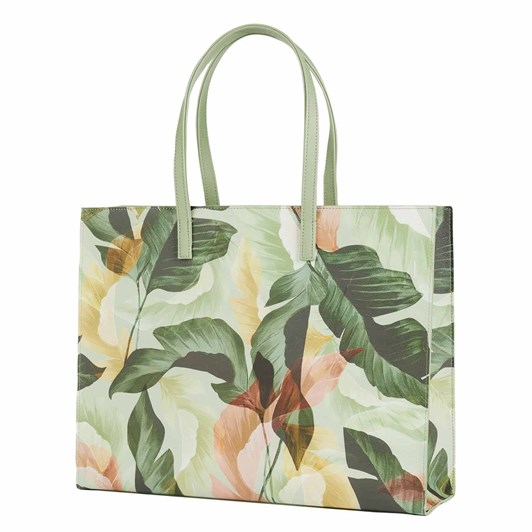 Ted Baker Ew Forager Palm Saffiano Icon