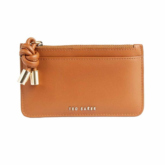 Ted Baker Knotted Leather Detail Zip Car