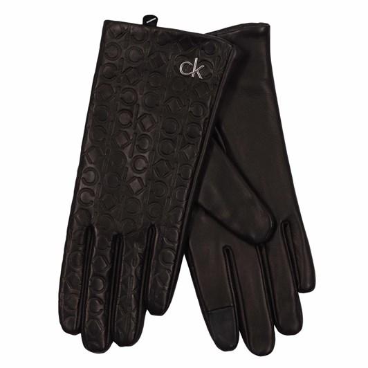 Calvin Klein Embossed Gloves