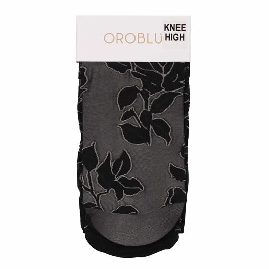 Oroblu Flower Knee High Socks