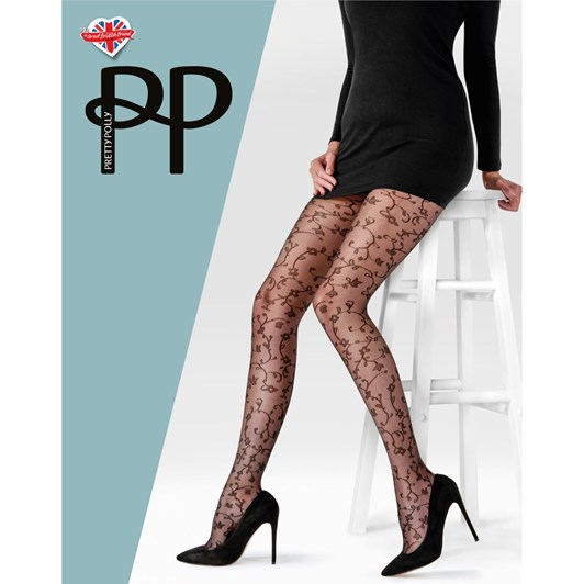Pretty Polly Floral Tights