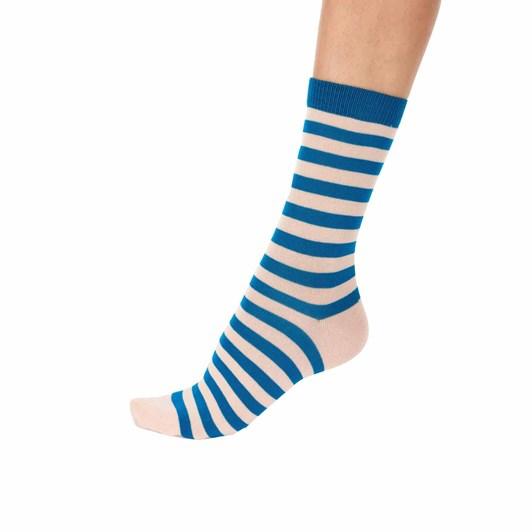 Pretty Polly Stripe Bamboo Sock