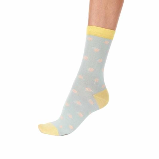 Pretty Polly Dot & Stripe Bamboo Sock