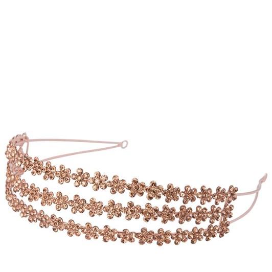 Olga Berg Trianna Triple Row Crystal Headband