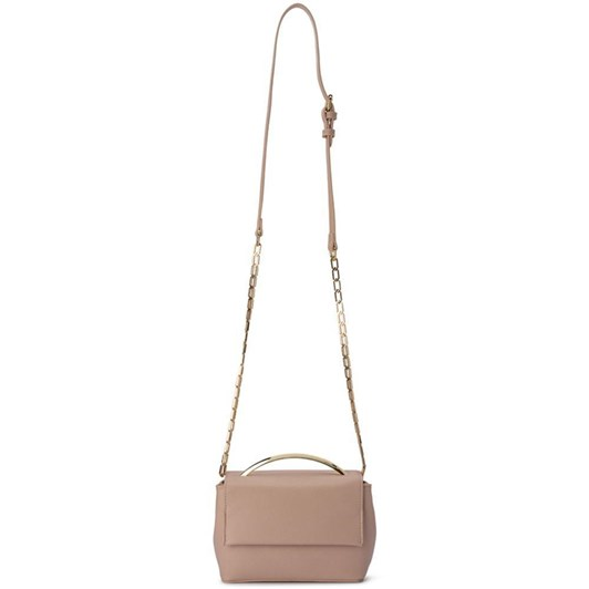 Olga Berg Clarissa Shoulder Bag With Top Handle