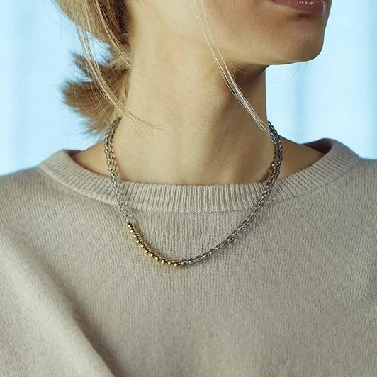 Edblad Arbus Necklace Mixed S Gold