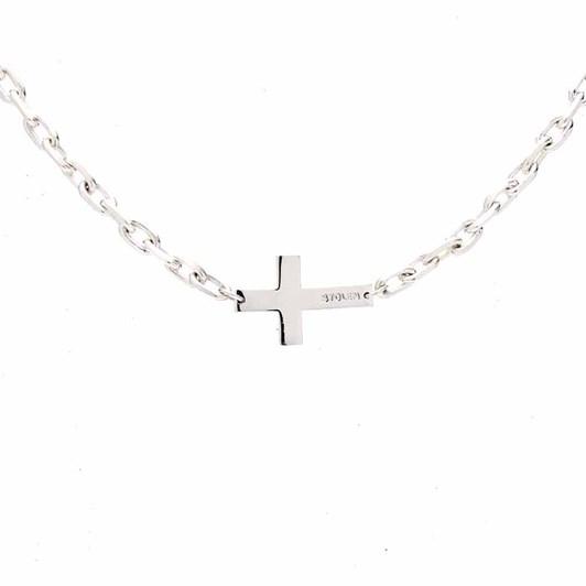 Stolen Girlfriends Club Falling Cross Necklace