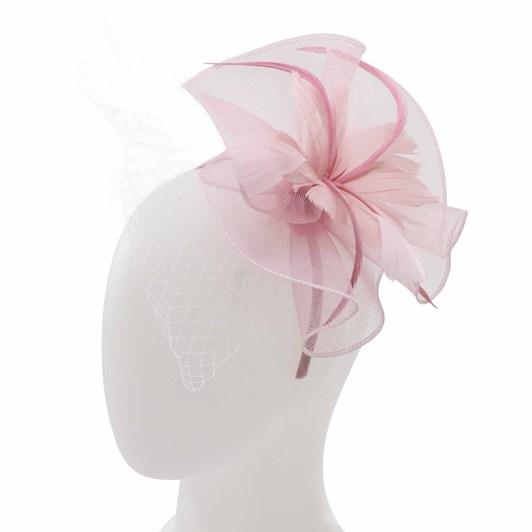 Headstart Feather Flower Fascinator