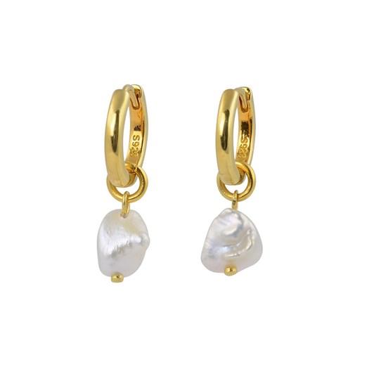 Brie Leon 925 Lila Pearl Sleeper Earrings
