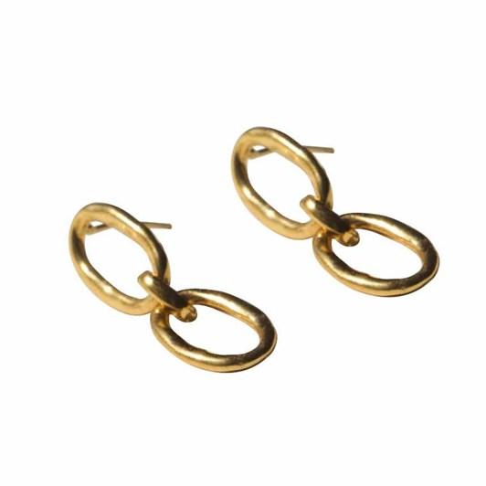 Brie Leon Link Chain Studs