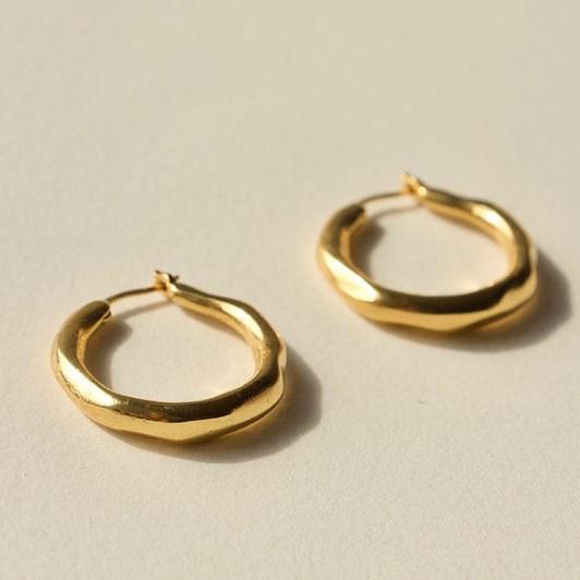 Brie Leon Organica Hoop Earrings Small
