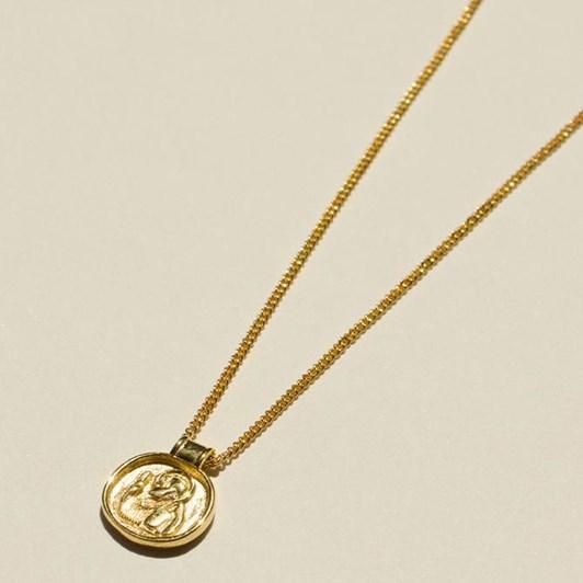 Brie Leon 925 Saint Christopher V2 Pendant Necklace