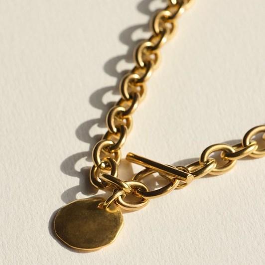 Brie Leon Granada Disc Necklace