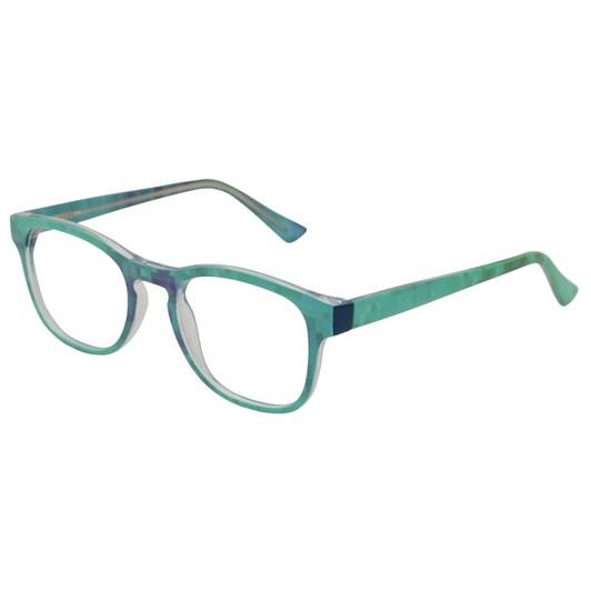 On the Nose Pixelate - Aqua Glasses