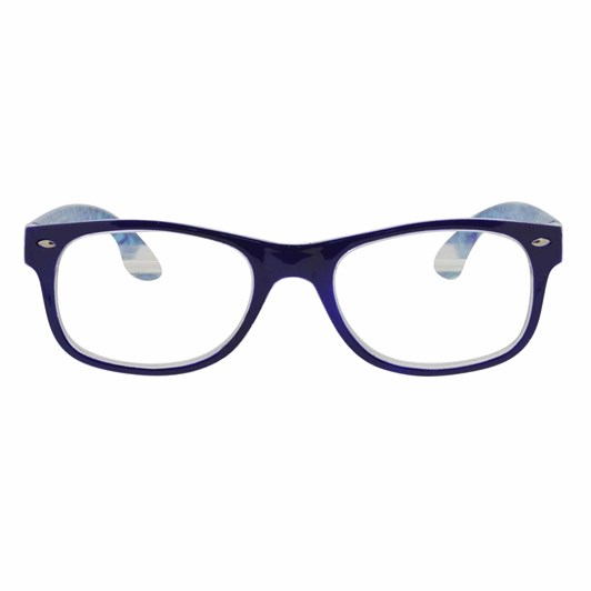 On the Nose Cracked - Purple Glasses