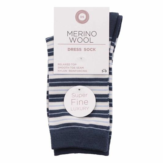 Designer Textiles Merino Wool Monarch Stripe Socks