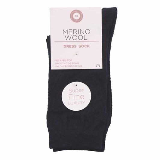 Designer Textiles Merino Wool Feather Texture Dress Socks