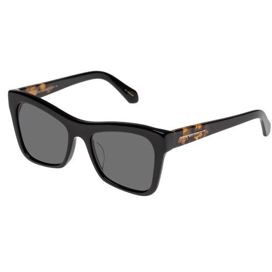 Karen Walker Hallowed Alternate Fit Black Sunglasses