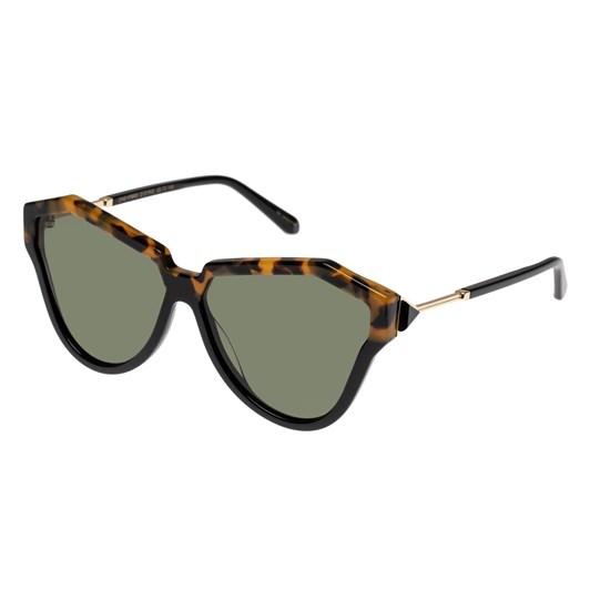 Karen Walker One Hybrid Alternate Fit Crazy Tort Sunglasses