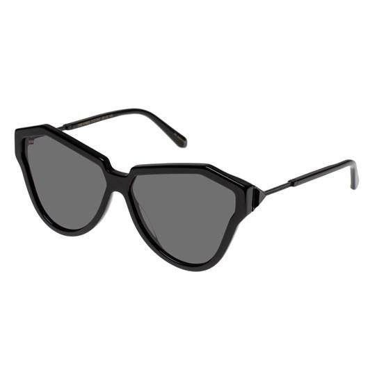 Karen Walker One Hybrid Alternate Fit Black Sunglasses