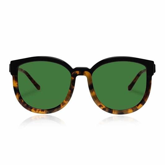 Karen Walker Super Hybrid Alternate Fit Crazy Tort Sunglasses