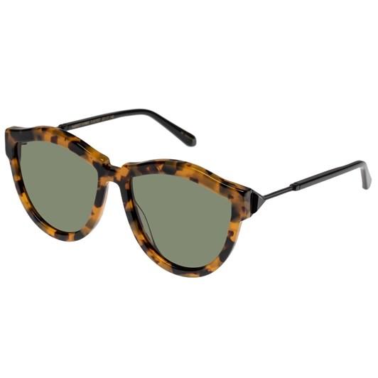 Karen Walker Harvest Hybrid Crazy Tort Sunglasses