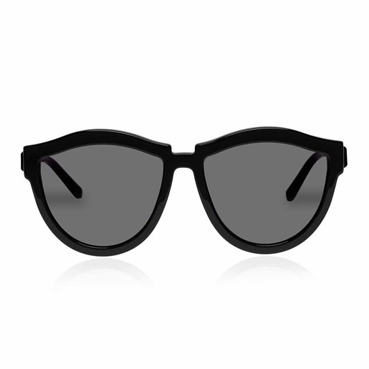Karen Walker Harvest Hybrid Black Sunglasses