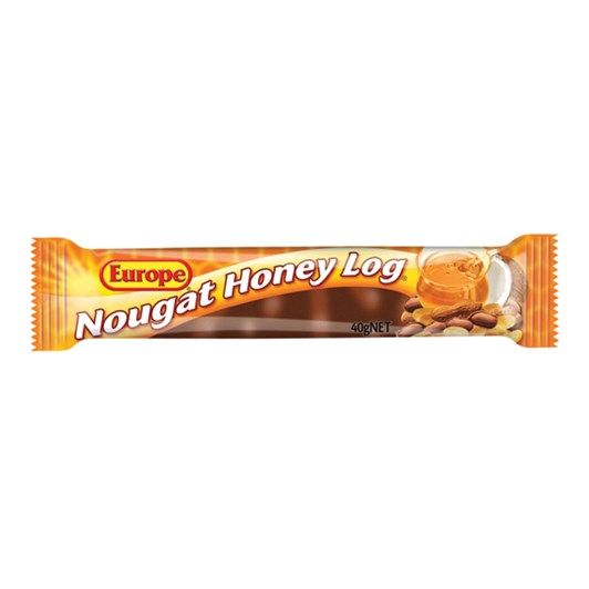 Europe Nougat Honey Log 40g