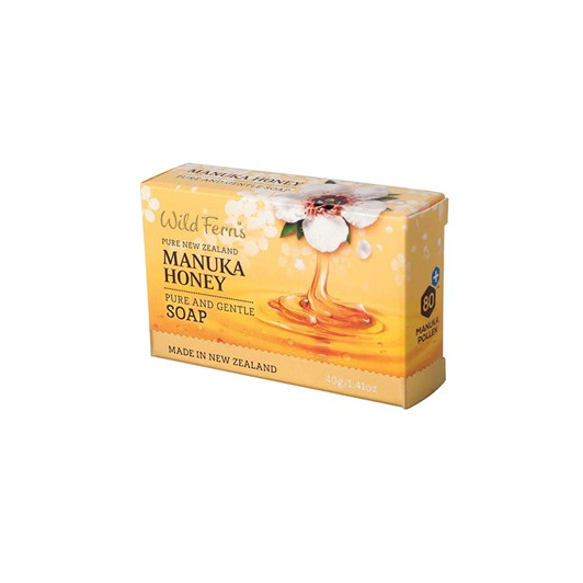 Wild Ferns Manuka Honey Pure And Gentle Guest Soap 40g