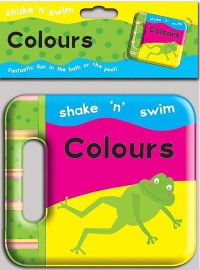 Blue Duck Books Shake N Swim Colours Bath Book
