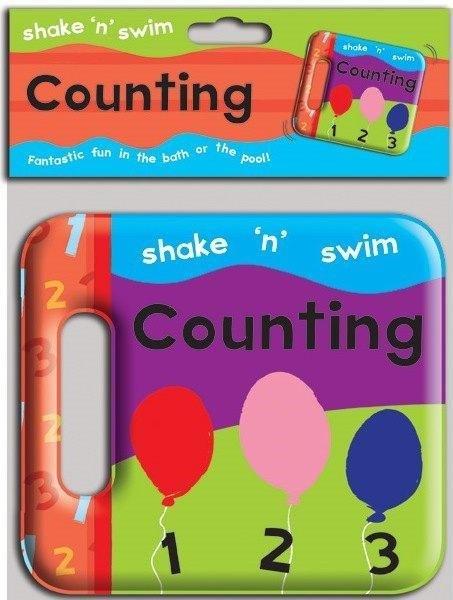 Blue Duck Books Shake N Swim Counting Bath Book NA
