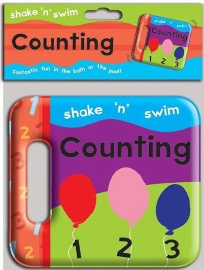 Blue Duck Books Shake N Swim Counting Bath Book