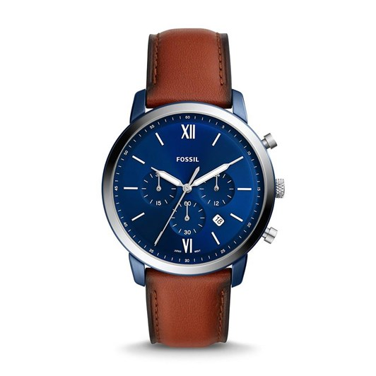 Fossil Neutra Brown Chronograph Watch FS5791