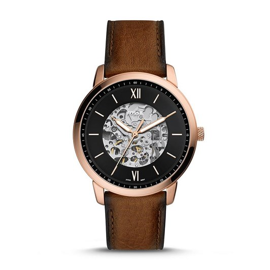 Fossil Neutra Brown Analog Watch ME3195
