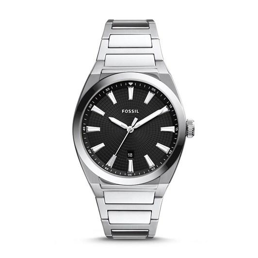 Fossil Everett Silver Analog Watch FS5821
