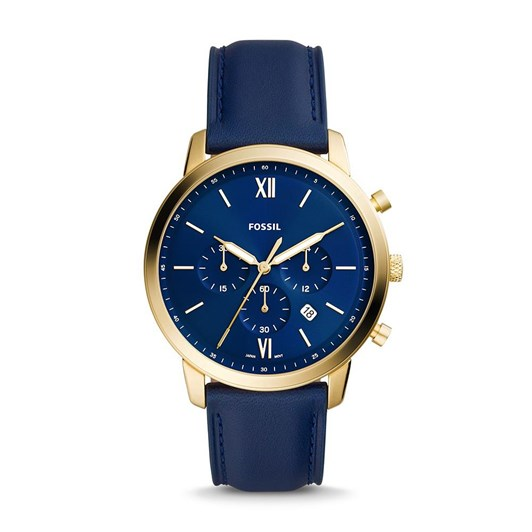 Fossil Neutra Blue Chronograph Watch FS5790
