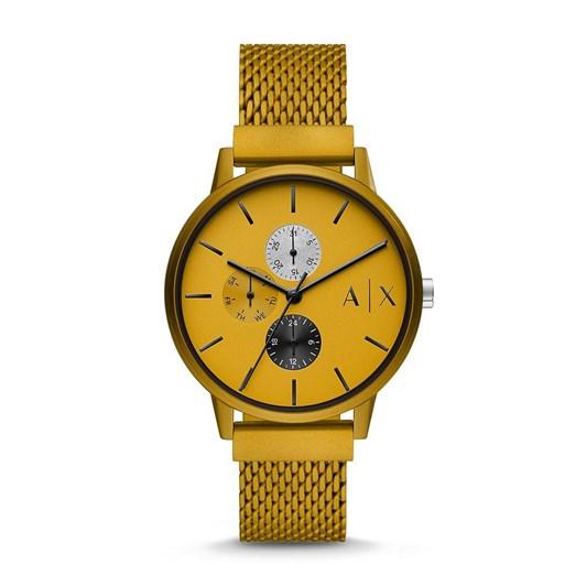 Armani Exchange Cayde Yellow Analog Watch AX2726