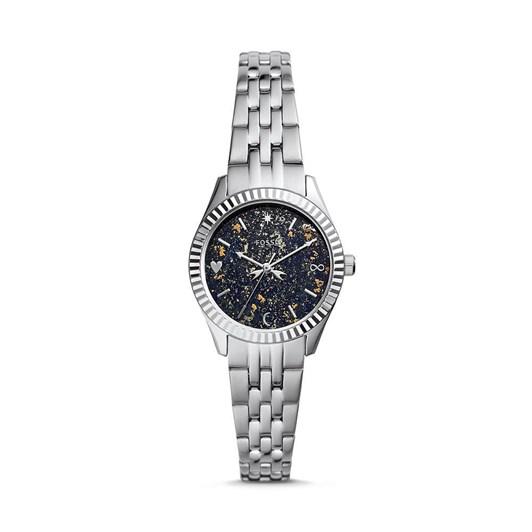 Fossil Scarlette Mini Silver Analog Watch ES5061