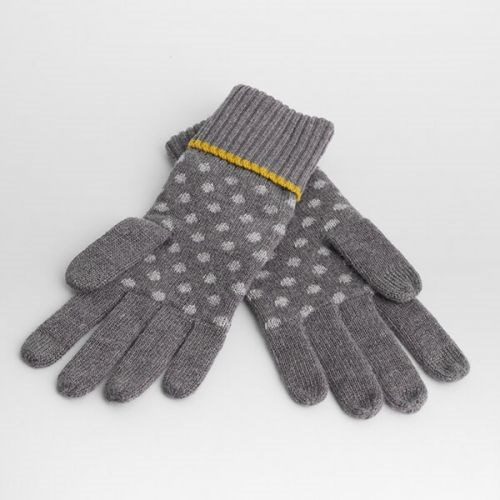 Seasalt Very Clever Gloves Lydia Spot Stormcloud