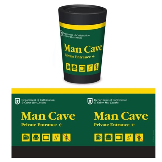 Cuppacoffeecup Man Cave By Glenn Jones