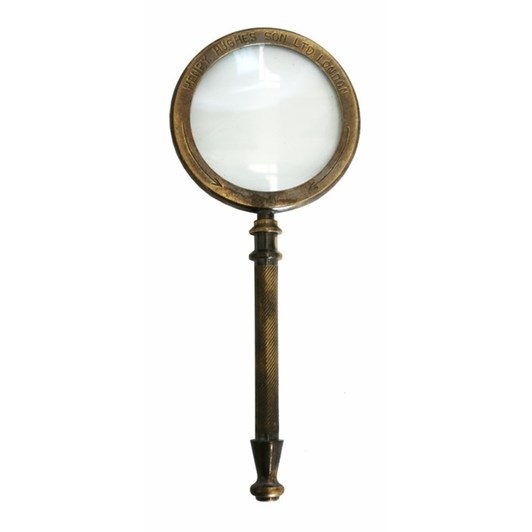 CC Interiors Brass Magnifying Glass