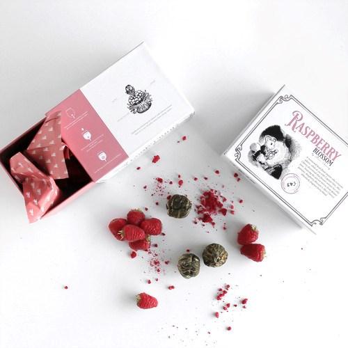 Floretique Raspberry Blossom Flowering Tea