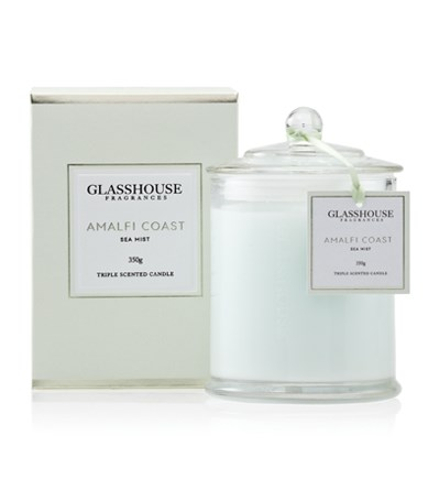 Glasshouse Amalfi Coast Large Triple Scented Candle