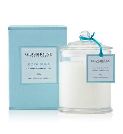 Glasshouse Bora Bora Large Triple Scented Candle