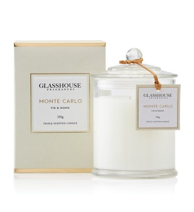 Glasshouse Monte Carlo Large Triple Scented Candle